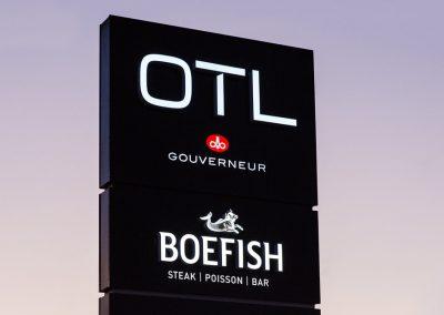 OTL Le Gouverneur Saguenay Boefish